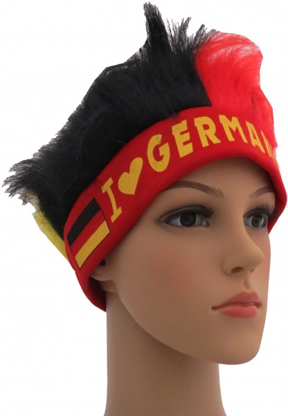 "Fan Head Band Hair ""I Love Germany"" Football Worldcup Party"