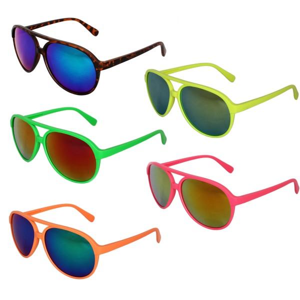 Sale: 12 Sun Glasses Mirrored Eyewear Party Fun