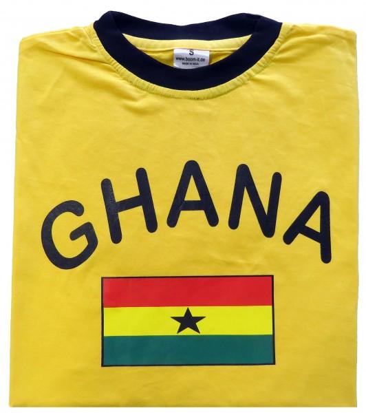 """Fan-Shirt """"Ghana"""" Unisex Football Worldcup T-Shirt Men"""