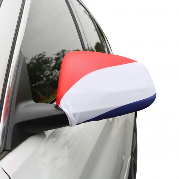 """Auto Außenspiegel Fahne Set """"Niederlande"""" Netherlands Holland Bikini Flagge EM WM"""