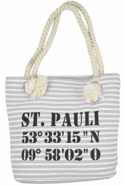 "Aktionssortiment: 20 XS Shopper ""St. Pauli"" Tasche"