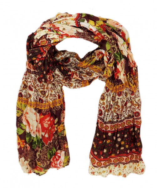 """Scarf Long """"Patchwork"""" Summer"""