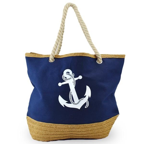 """Beach bag """"Annabell"""" Shopper Uni Anchor"""