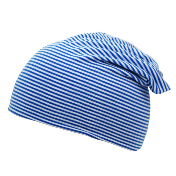 """Beanie Slouch Baby """"Stripes UNI"""" Maritime Jersey"""