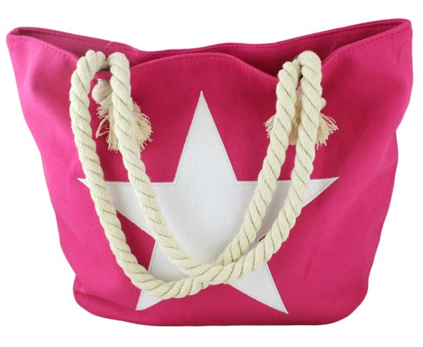 "Beach Bag Star Uni ""Emma"" Embroidery Shopper"