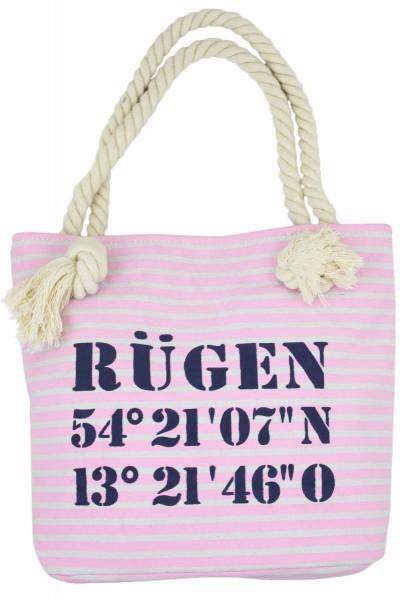 """XS Shopper """"Rügen"""" Shopper Tasche Koordinaten"""