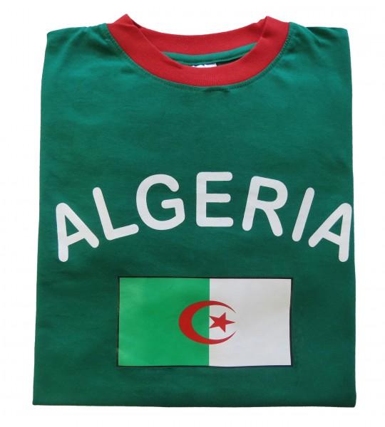 """Fan-Shirt """"Algeria"""" Unisex Football Worldcup T-Shirt Men"""